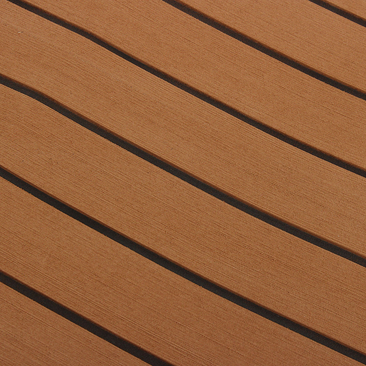 2400x1200x6mm EVA Foam Brown Faux Teak Boat Flooring Decking Sheet Pad
