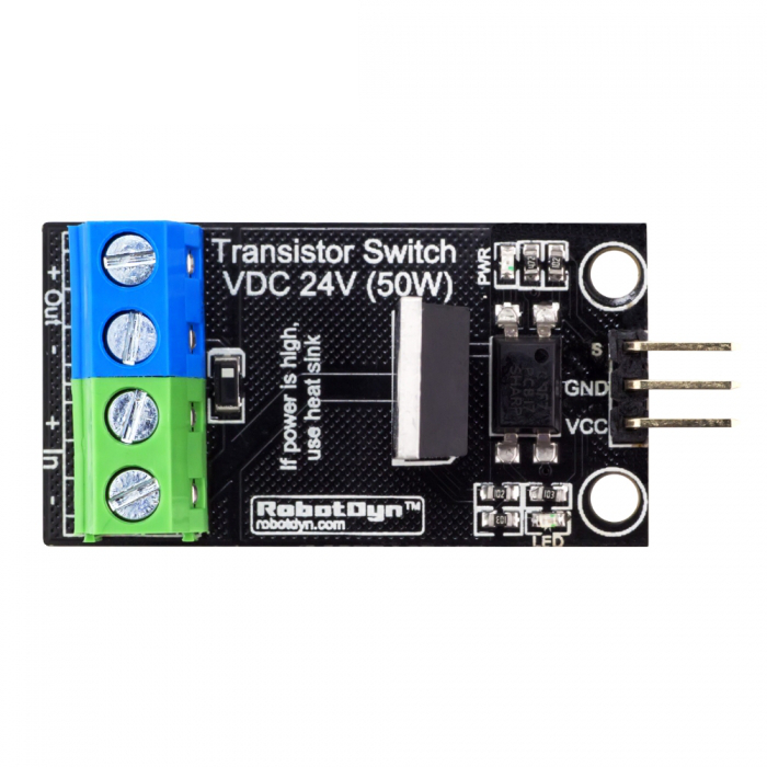 3Pcs RobotDyn® Transistor MOSFET DC Switch Module 5V Logic DC 24V 30A With Optocouplers