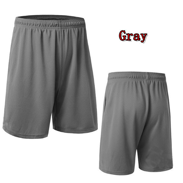 Loose Breathable Running Basketball Shorts Quick Dry Knee Length Sports Pants for Men