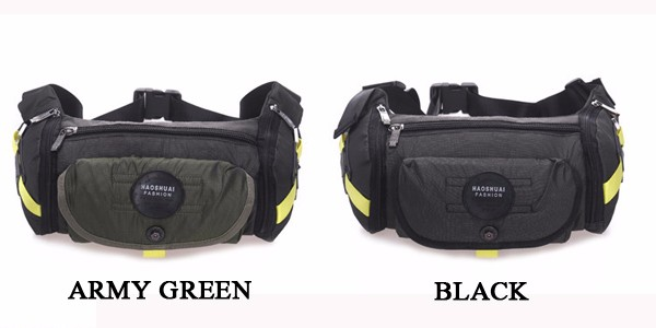 Large Capacity Men Tactical Outdoor Sport Nylon Waist Bag