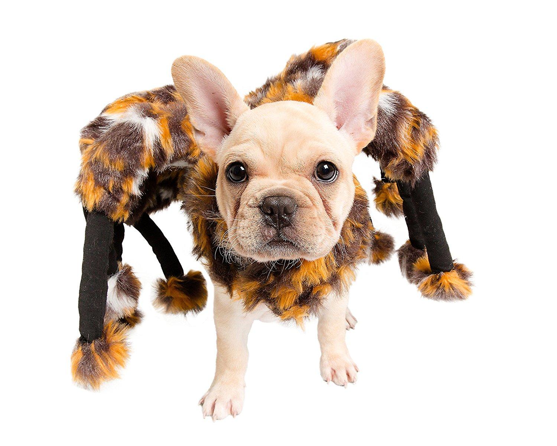 Pet Scared Mutant Costume Spider Tarantula Dog Cat Costume Pet Clothes Furry Legs