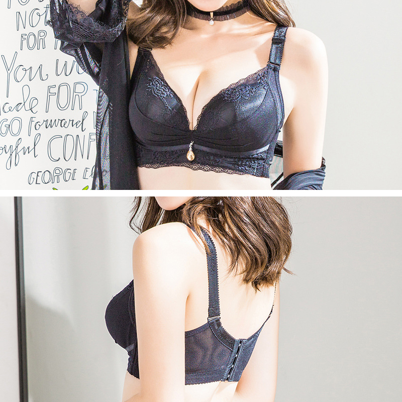 Push Up Wireless Back Shaping Adjusted Bra
