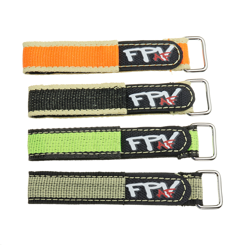 2Pcs RJX FPV AF 220x20mm Colorful Battery Strap with Metal Clasp for RC Drone Battery