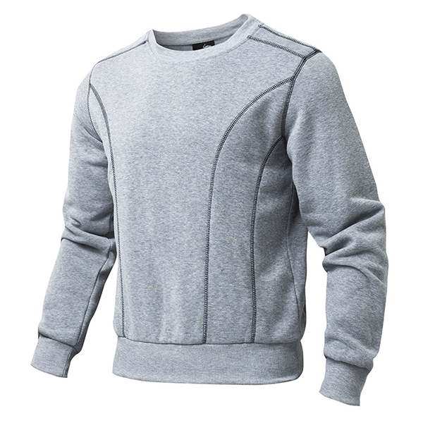 Outdoor Sports Warm Fleece Sweatshirt Men Fashion Solid Color Pullovers Tracksuits