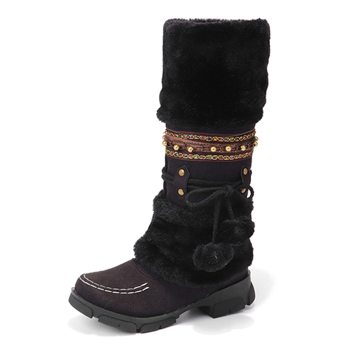 Boots - LOSTISY Large Size Fluffy Keep Warm Winter Snow