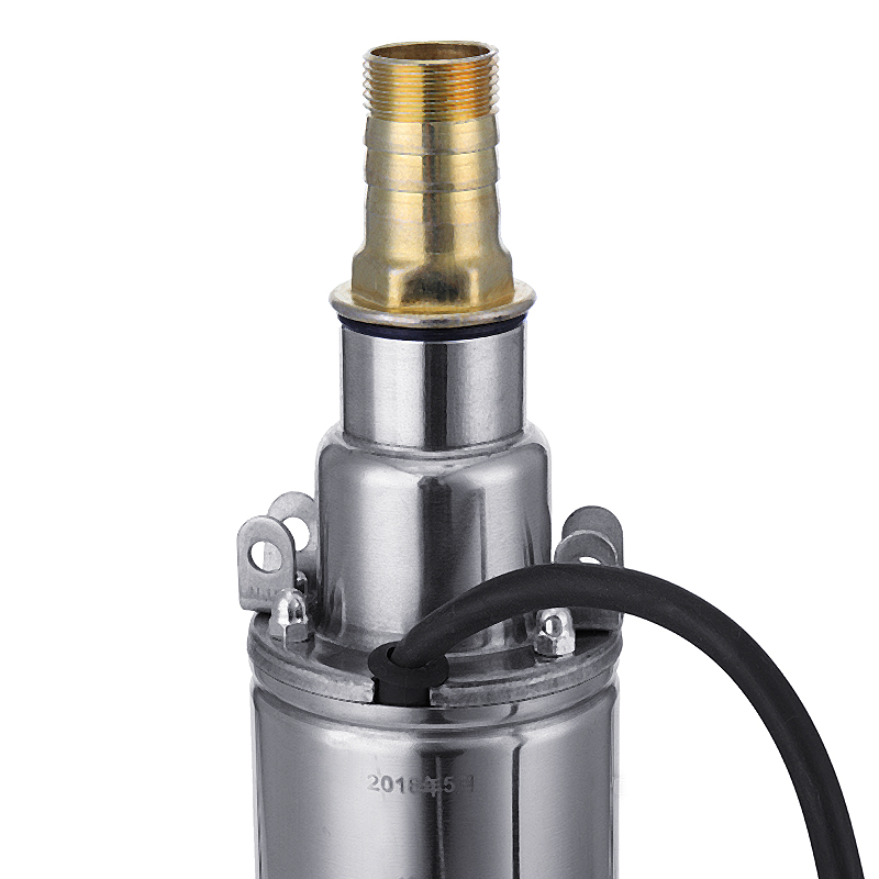 DC12V Deep Well Submersible Screw Pump 82FT Lift Max Deep Well Pump 1 Inch Outlet Water Pump