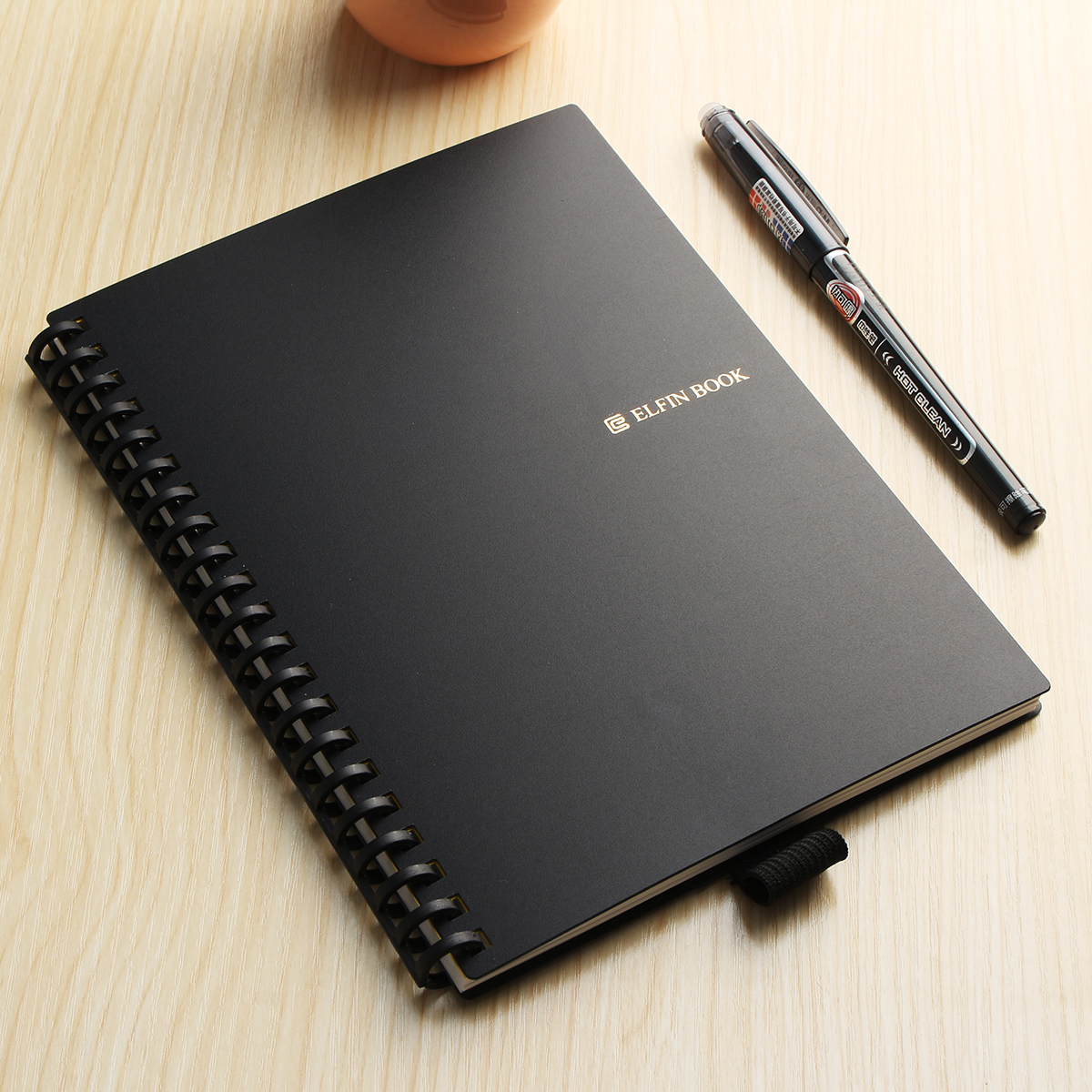 B5 Elfinbook 2.0 Smart Reusable Erasable Notebook Microwave Wave Cloud Erase Lined Notepad With Pen