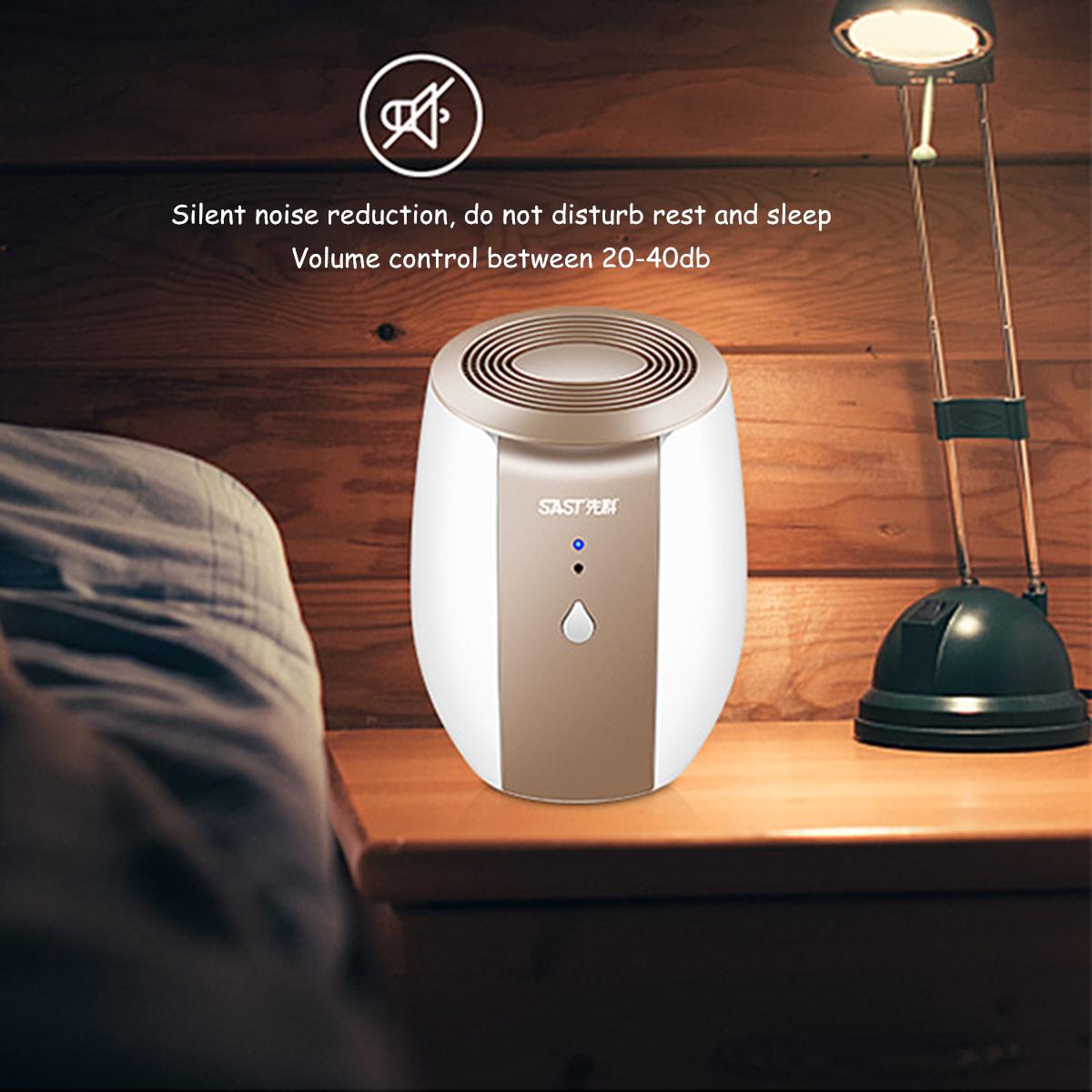 220V Portable Mini Air Dehumidifier Quiet Air Dryer 500ML
