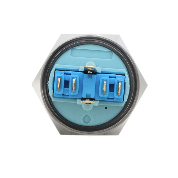 12V 22mm 6 Pin Momentary Switch Led Light Metal Push Button Momentary Switch