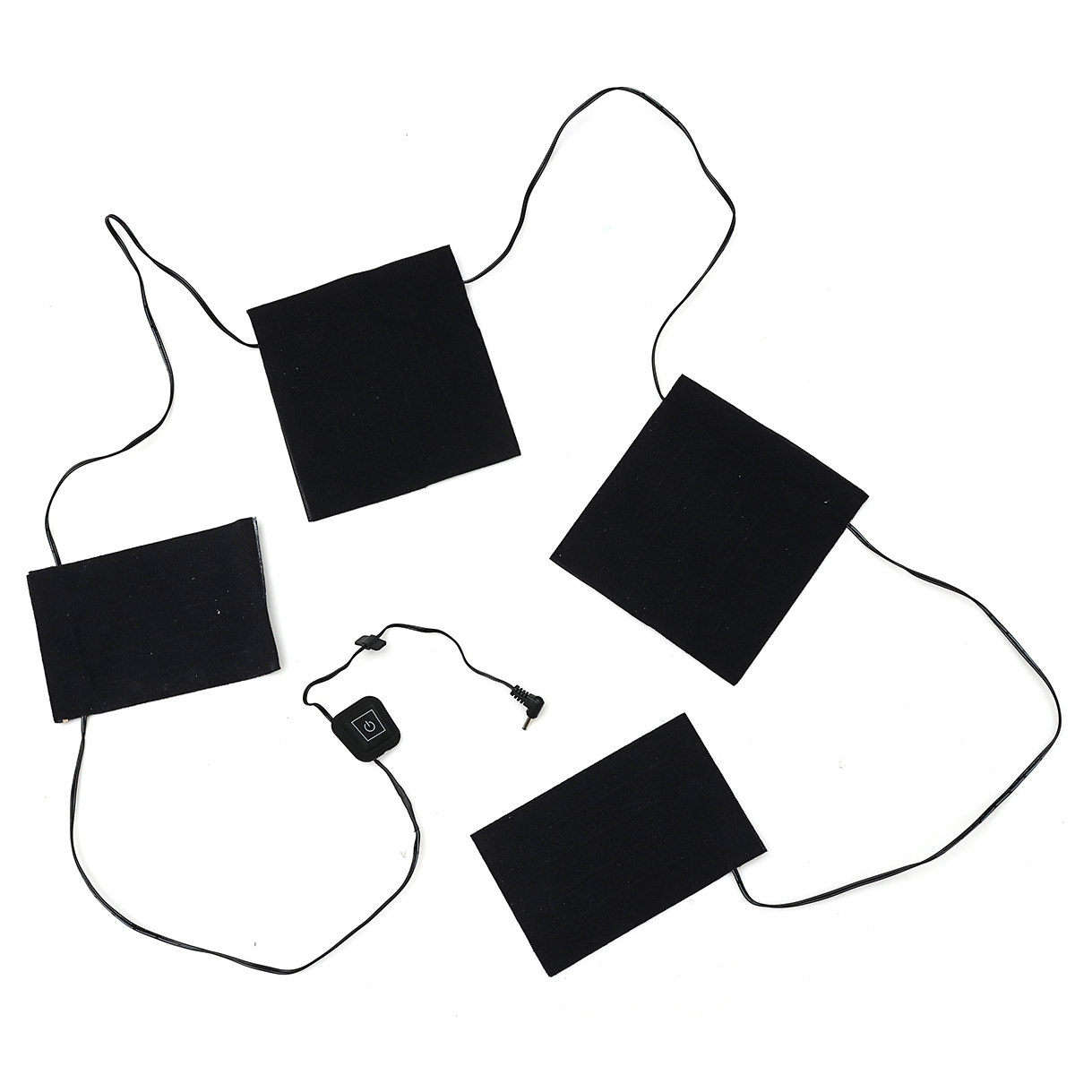 7.4V Electric Heater Pad Clothes Thermal Heating Warmer Vest Jacket Warming Gear