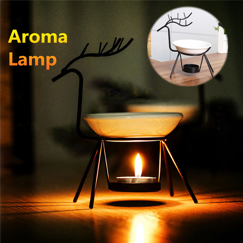 Aroma Furna Burner Candle Aromatherapy Oil Lamp