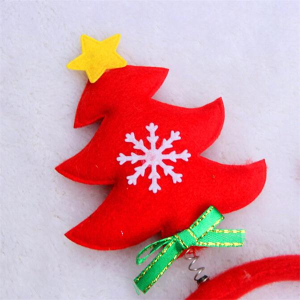 Adult Kids Baby Child Christmas Tree Headbrand Party Hat Costume Spring Winter Prop Xmas Hair Clasp Accessories
