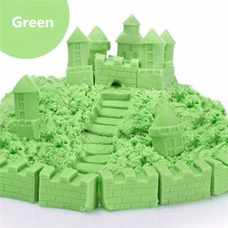 Magic Sand DIY Multi Colors Sand Children Kids Indoor Play Craft Handmade Toys With Box