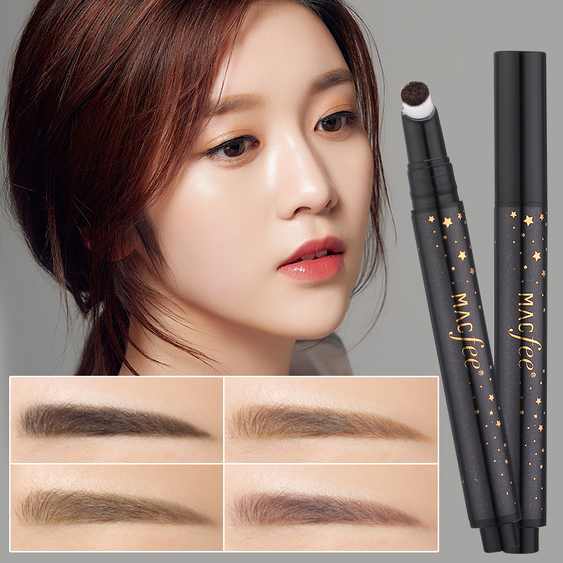 XLOONG Press Cushion Eyebrow Pencils Waterproof