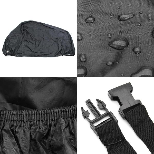 Motorcycle Cover Waterproof Outdoor UV Protector Bike Rain Dustproof Motor Bike Motor Scooter M-4XL