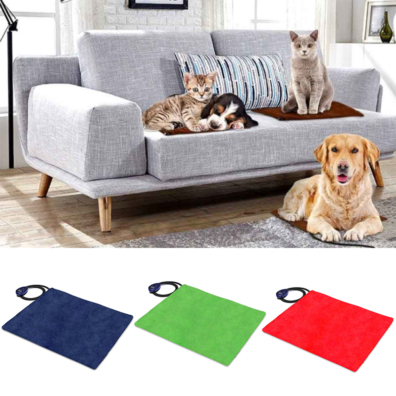 65x40cm Electric Heating Heater Heated Bed Mat Pad Blanket For Pet Dog Cat