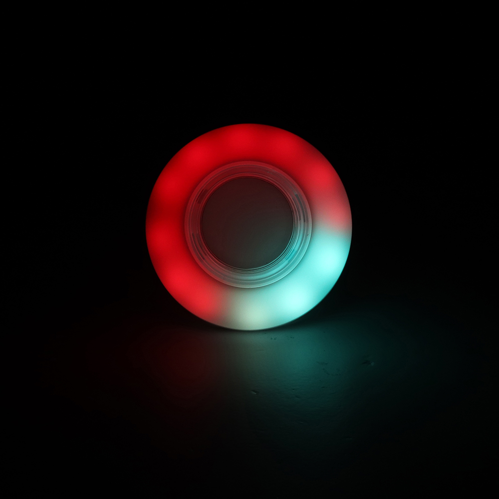 80MM Color Changing LED Push Button with Light Cable Micro Switch for Arcade Game Console DIY