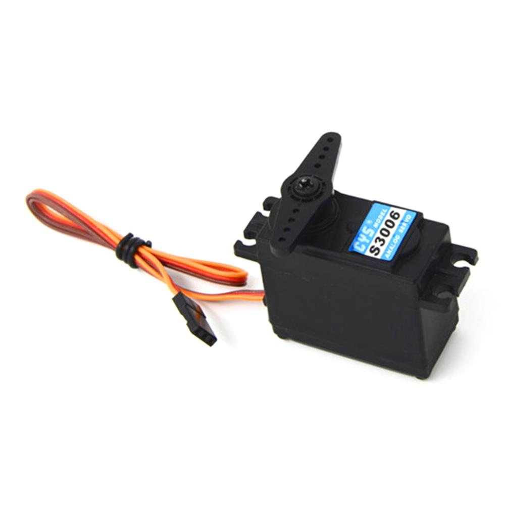 CYS-S3006 6KG High Torque Analog Plastic Gear Servo For RC Airplane Helicopter RC Toys Parts