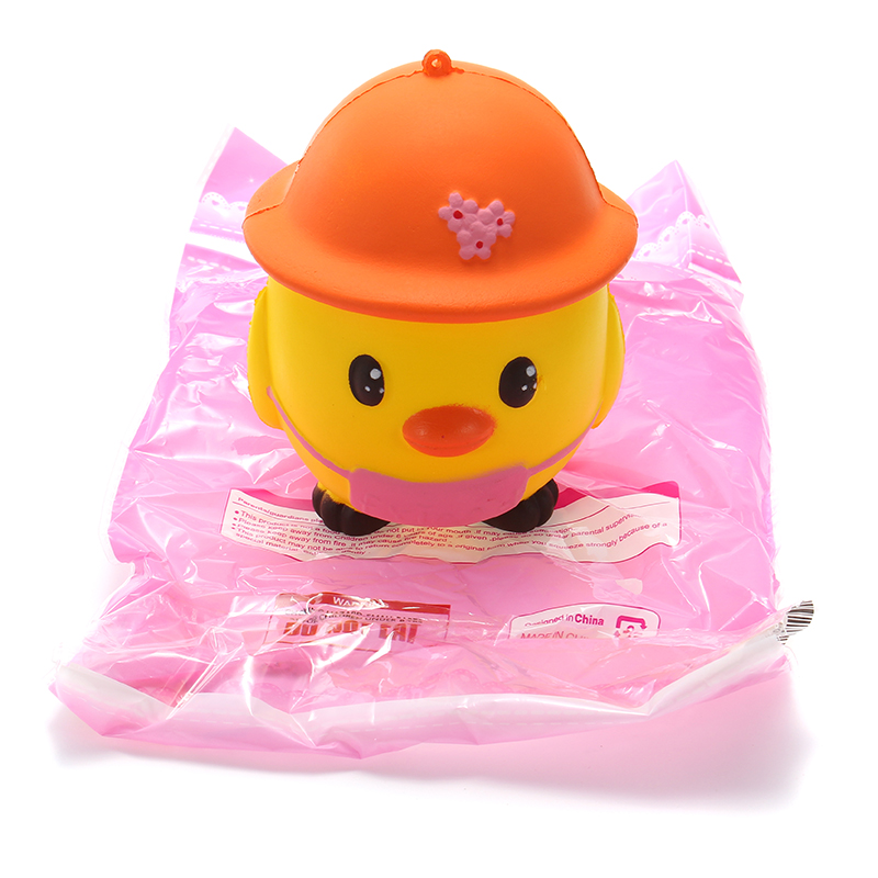 Squishy Yellow Chick 11cm Soft Slow Rising Collection Gift Decor Toy