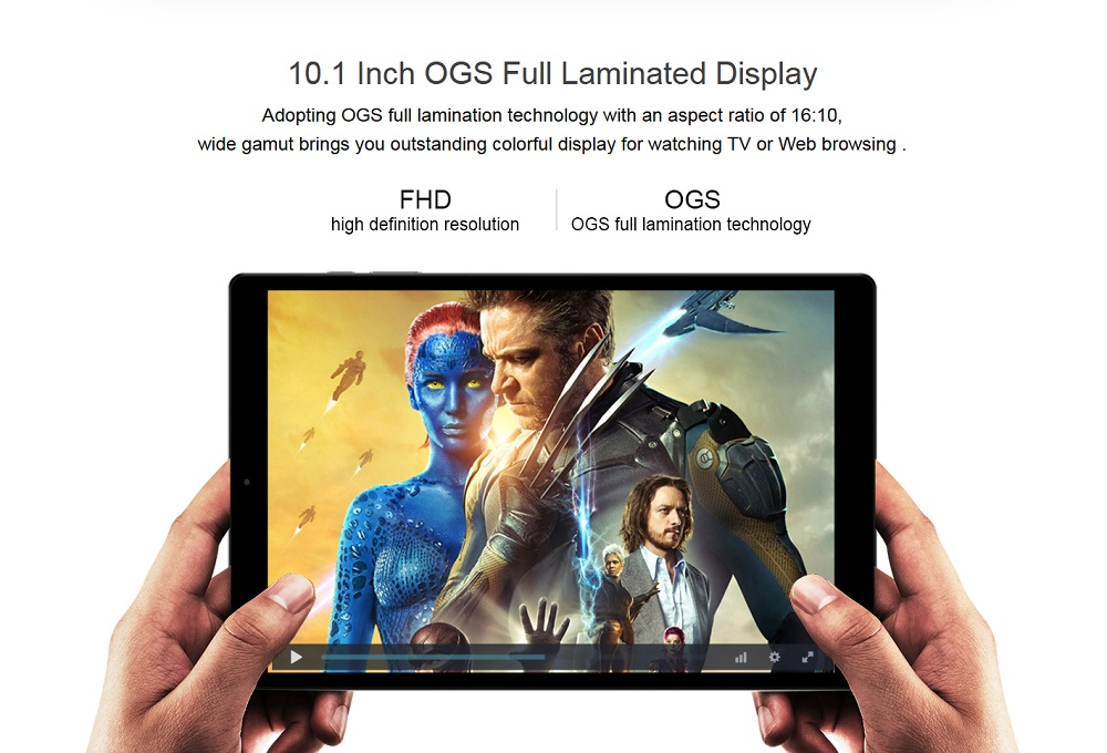 Original Box CHUWI HiPad 32GB MTK6797X Helio X27 Deca Core 10.1 Inch Android 8.0 Tablet PC