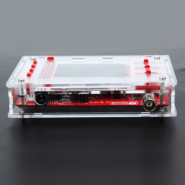 Transparent Acrylic Sheet Housing Module Case For DSO138 Oscilloscope