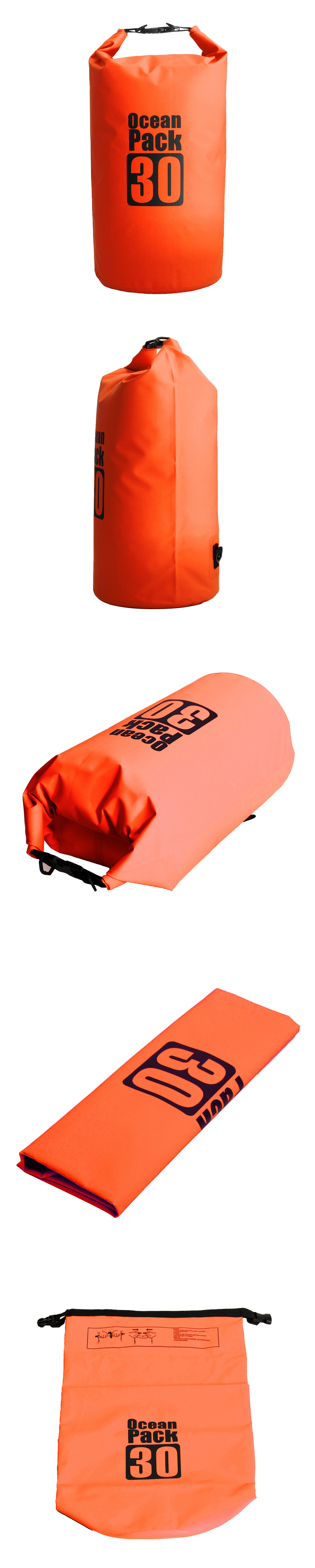 30L PVC Waterproof Dry Bag Sack Boating Sailing Rafting Canoe Kayak Pouch