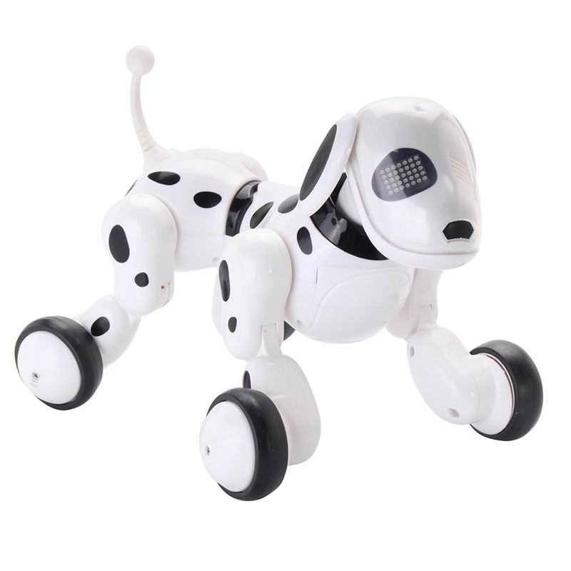 RC Smart Robot Dog Sing Dance Walking Talking Dialogue RC Pet Toy Children Gift