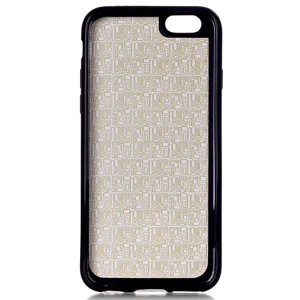 Glasses Cat Pattern Back Holder Case For iPhone 6 Plus & 6s Plus