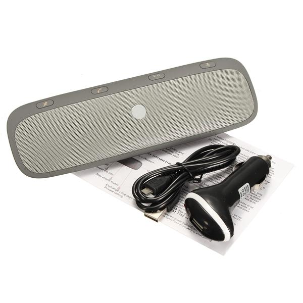 Car Hands Free Wireless bluetooth 3.0 Speaker Phone Speaker Voice Power Stereo