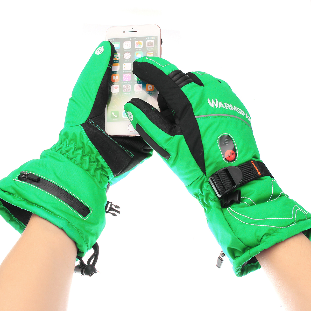 5600mAh Rechargeable Battery Heated Motorcycle Winter Gloves Electric Warm