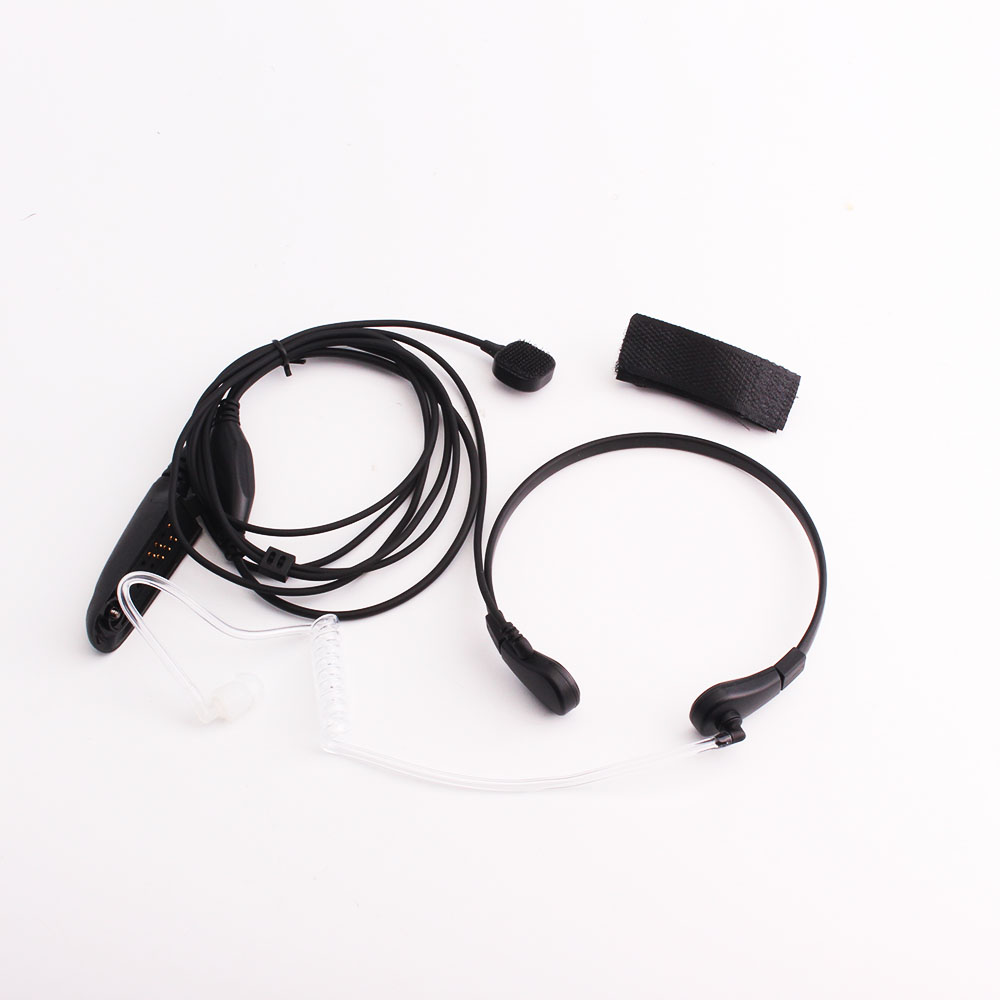 Earphone Adapts GP328 GP338 PR05150 Walkie-talkie Throat Control Laryngeal Shock Headset With PTT