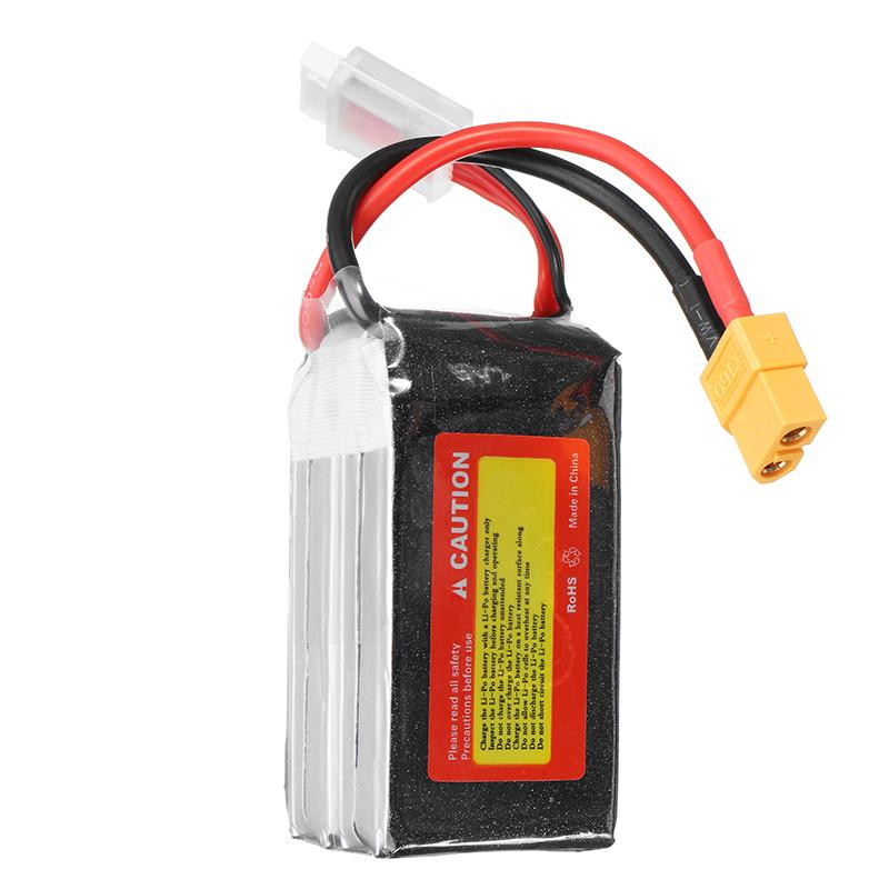 ZOP Power 14.8V 1800mAh 65C 4S Lipo Battery XT60 Plug For RC FPV Racing Drone