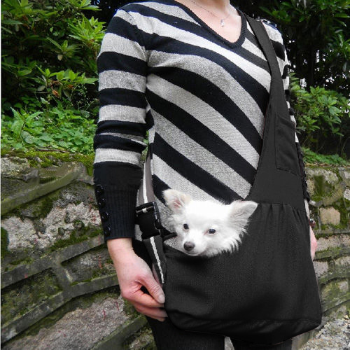 Oxford Dog Cat Puppy Aminal Sling Single Shoulder Bag S Size Winter Dog Front Chest Carrier Outdoor Travel