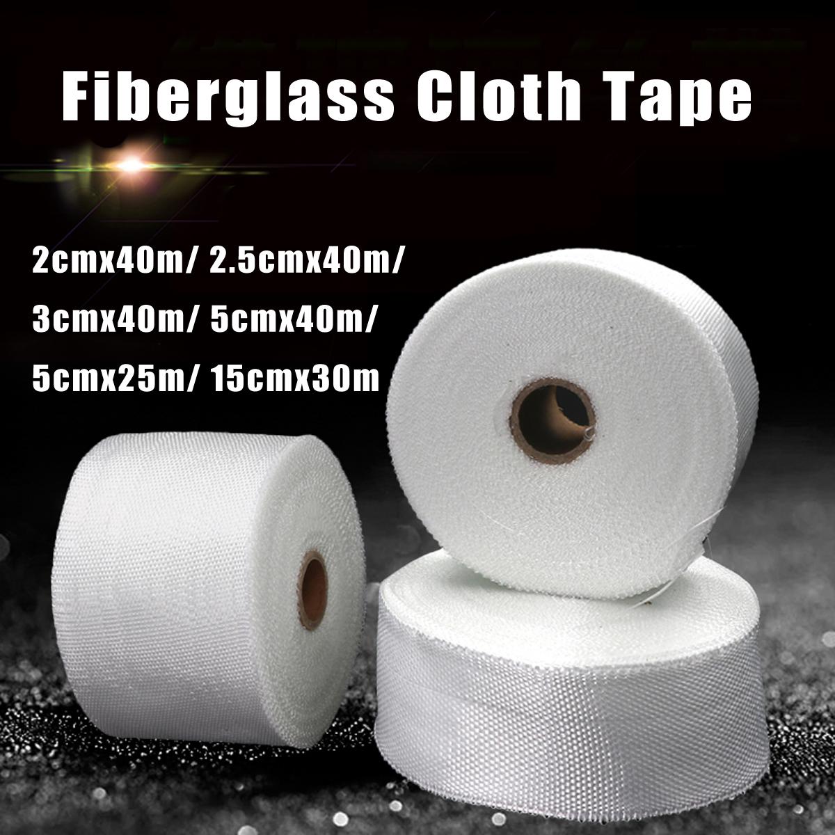 Fiberglass Cloth Tape Roll Glass Fiber Plain Weave Joint Strap Fabric Repair