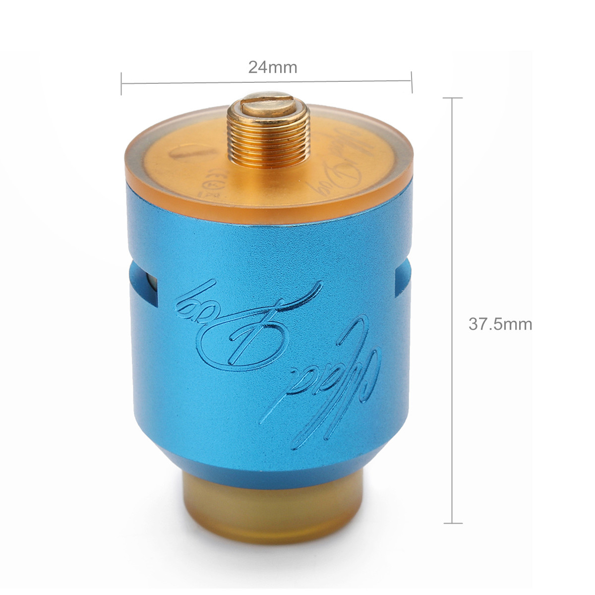 24mm Tank Desire Mad Dog RDA Atomizer Tools Kit Black/Red/Gold/Blue/Silver