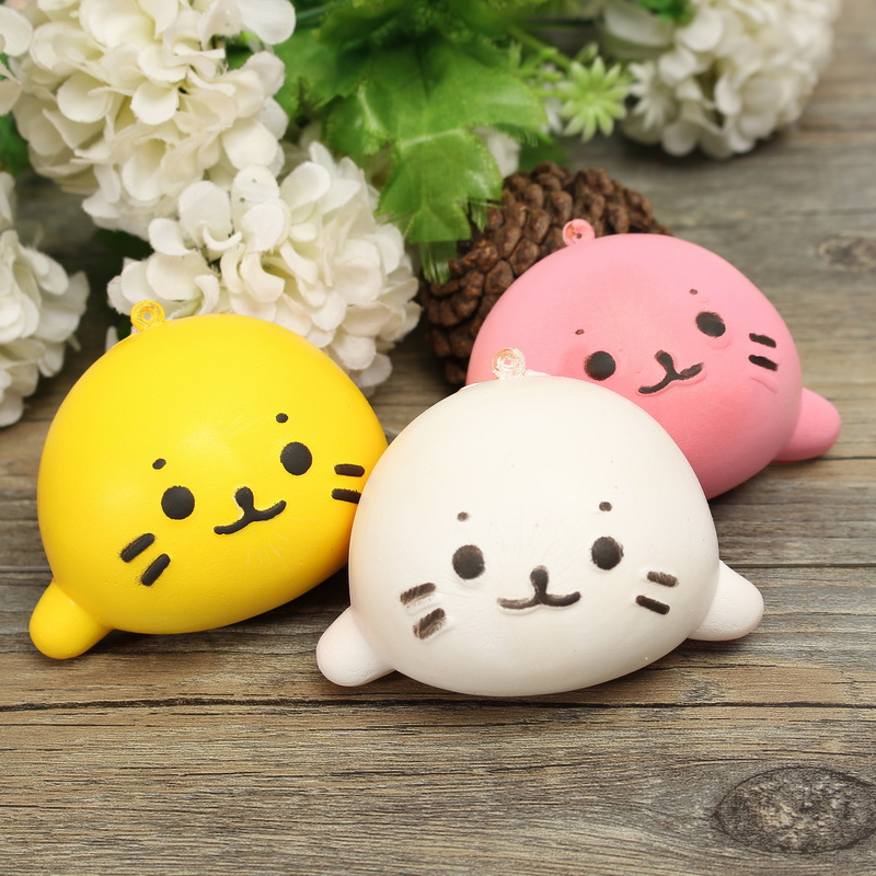 6cm Squishy Simulation Otter Lutra Lutra Slow Rising Sq