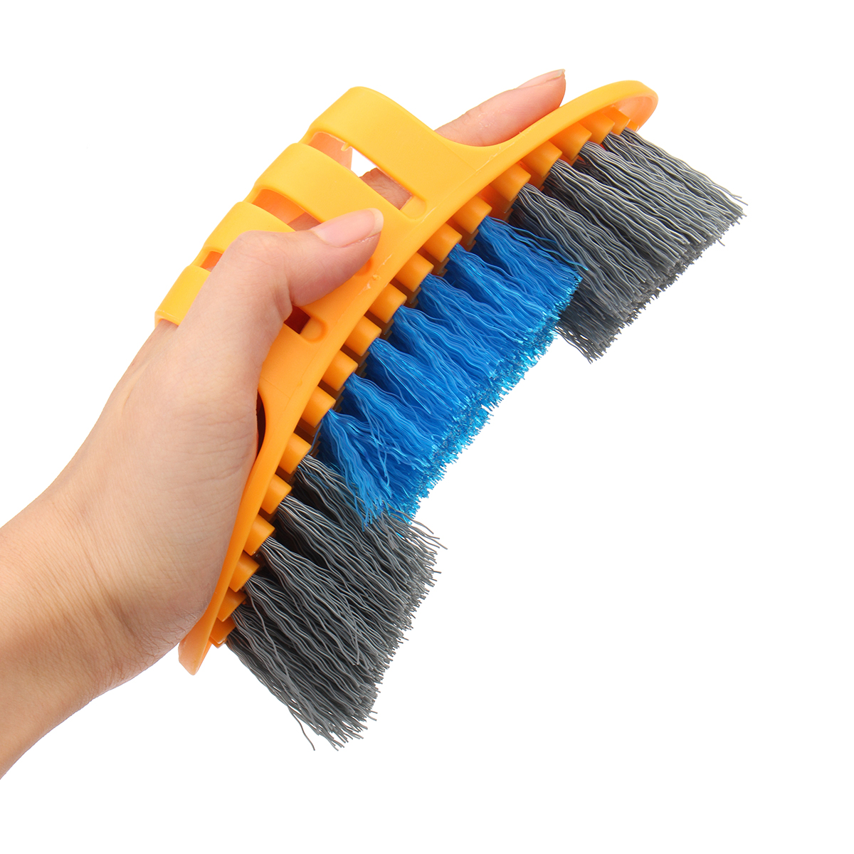 BIKIGHT 6 Pcs Bicycle Cleaing Tool Kits Cleaing Set Chain Cleaner Gloves Tire Brushes
