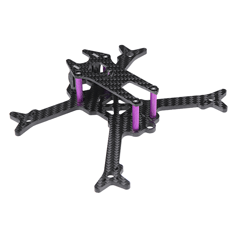 URUAV Owlet 145mm Micro FPV Racing Frame Kit 4mm Arm Carbon Fiber Support RunCam Micro Swift Camera