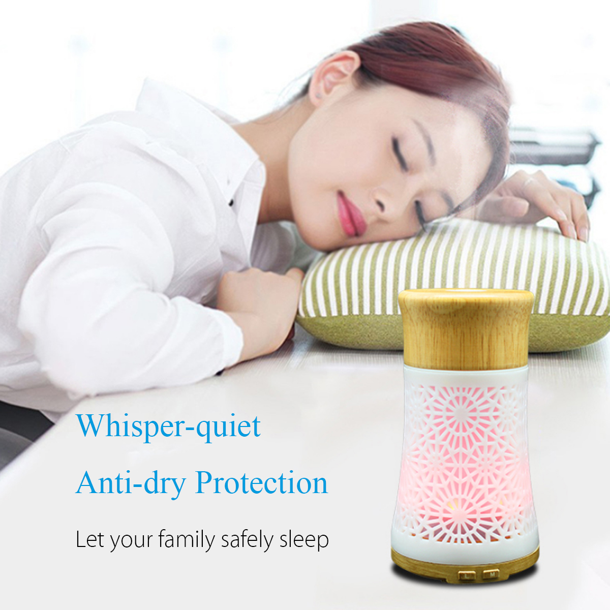 LED 7 Colors Ultrasonic Air Humidifier