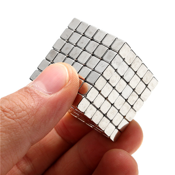 216pcs 5mm Cube Magnets Square 3D Puzzle Ball Sphere Magnetic Magnets