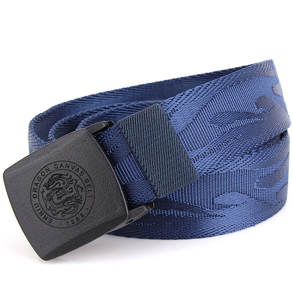 125CM Men Army Tactical Automatic Buckle Nylon Belt