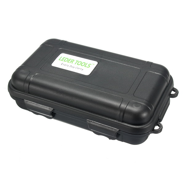 Shockproof Waterproof Storage Case Camping Travel Container Carry Storage Box Small Size