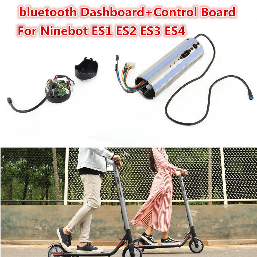 Activated bluetooth Dashboard+ Control Board For Ninebot ES1 ES2 ES3 ES4 Scooter