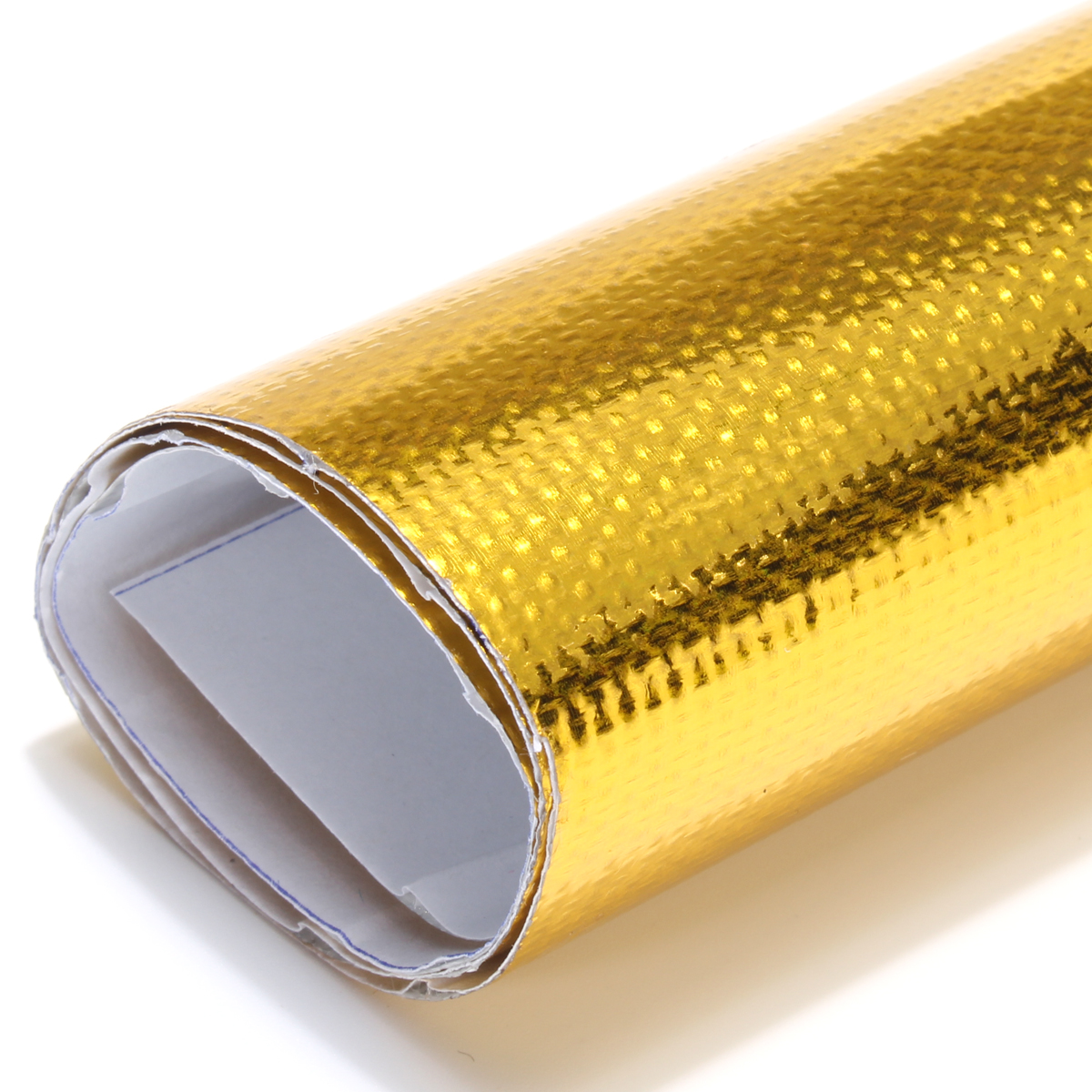 50x50cm Reflective Gold Heat Shield Tape For Thermal Racing Engine