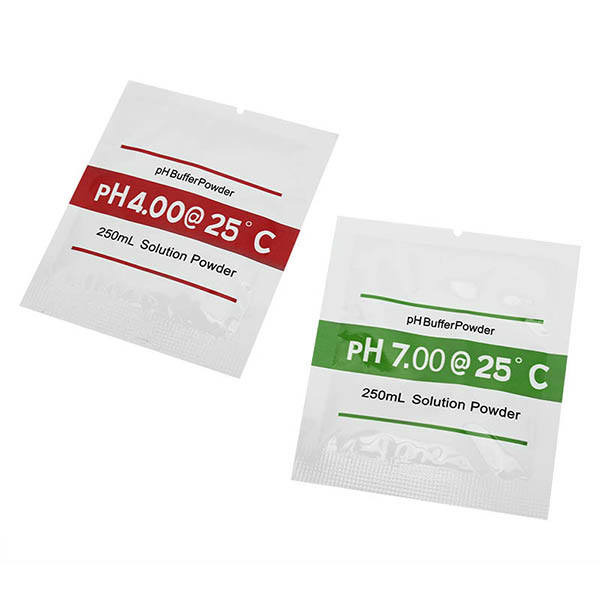 2Bags PH4.00 PH7.00 Buffer Powder For PH Test Meter Measure Calibration Solution