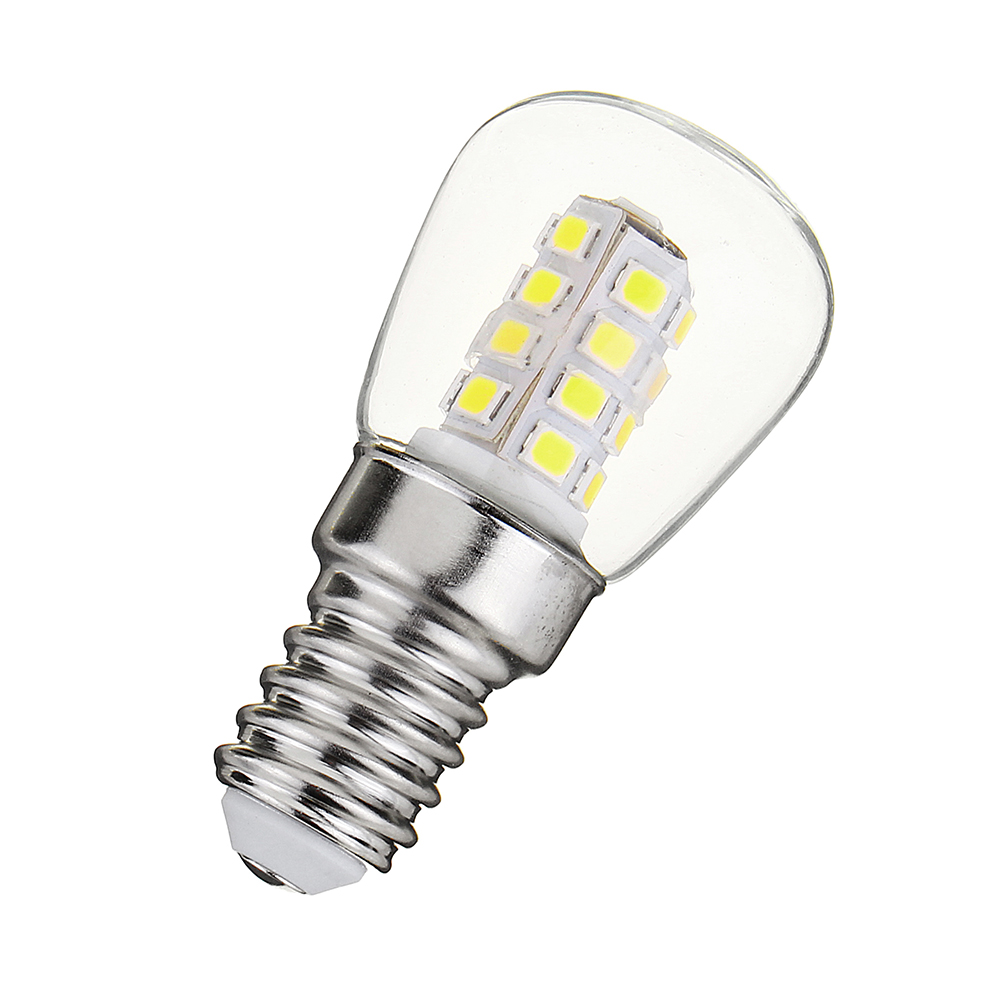 E14 3W SMD2835 White Warm White Mini LED Lamp Refrigerator Corn Light Bulb AC220-240V