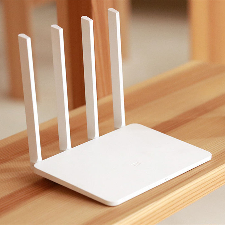[English Version] Original Xiaomi Mi WiFi 3 Router EU Plug Smart 4 Antennas 1167Mbps Dual Band