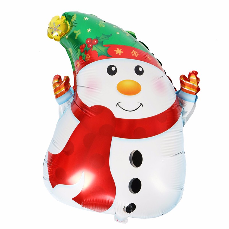 Christmas Balloon Aluminum Balloon Wedding Balloon Home Decor Christmas Tree Balloon