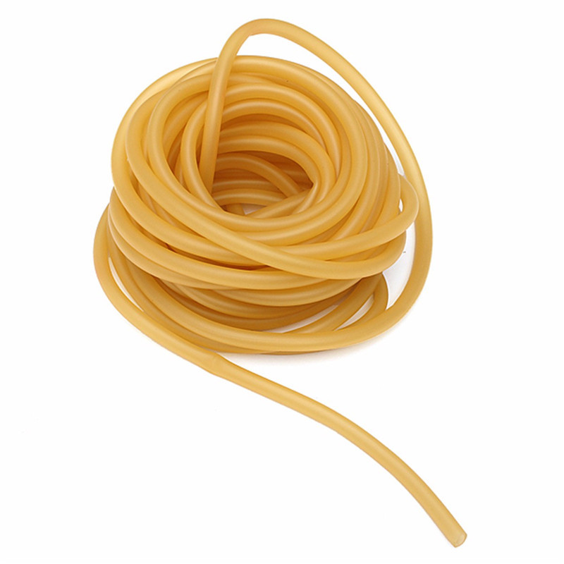 1/3/5/10m Long Natural Latex Rubber Band Elastic Parts Band Hose Rope 6x9mm