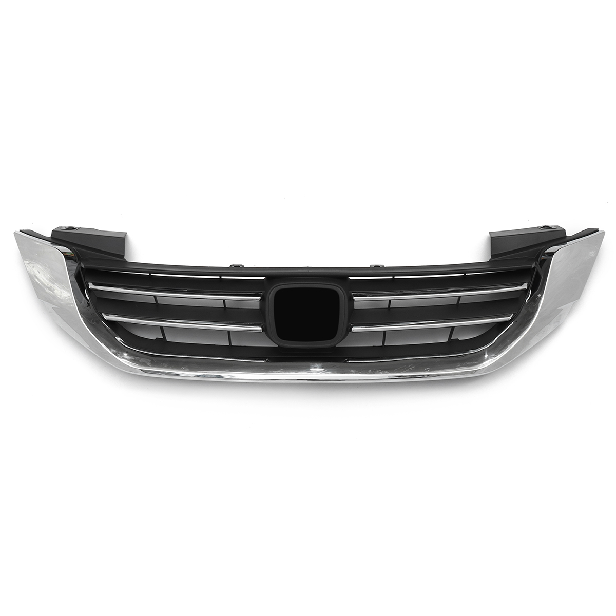 Front Bumper Mesh Hood Upper Frill Chrome Grille For Accord 2013 2014 2015 PY